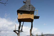 Tree house eco village