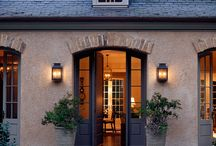 Home Exteriors / by Christine Heisler