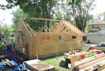 garage/drive shed