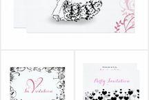 Valentine's Day Invitation Cards