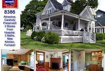 SOLD | 26 Highland Avenue Houlton Maine / Gorgeous Home on 26 Highland Avenue Houlton Maine For Sale The Old Style Of Victorian Gingerbreading, Wainscoting, Hardwood Floors, New Kitchen, Updated Baths, One Each Level. Watch The Video, Take The Show And Tell Tour. $159,500
