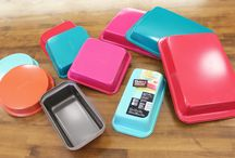 Let's Bake In Color / All of the colorful recipes we love, inspired by our new colored metal bakeware collection, launching in Fall 2014. Enter here for a chance to win it! http://shout.lt/w3Dp / by Baker's Secret