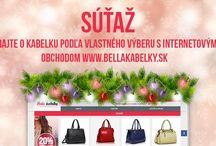 Akcie / Super akcie môžete sledovať na našej stránke www.bellakabelky.sk