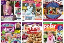 Revistas #septiembre 2012 / Revistas que valen la pena leer  Fascículos publicados de manualidades, cocina, pasteleria, confiteria, tejido, crochet, porcelana fria y mucho más.