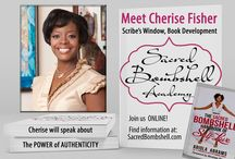 Sacred Bombshell Handbook of Self-Love / The Sacred Bombshell Handbook of Self-Love -- how to live the empowered, juicy, and happy life! New spiritual self-help book and movement by Abiola Abrams. / by Abiola Abrams, Love-Body-Spirit Coach
