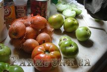 pickles, preserves and putting food by