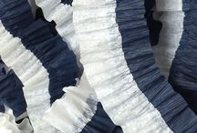 Etsy { Ruffled Streamers } / Handmade Ruffled Streamers by Charmios / by Charmios