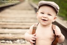Baby boy photo shoot ideas / by Lisa Reese