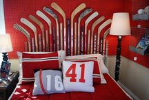 Дизайн интерьера для хоккеиста