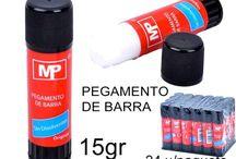 Pegamento de barra MP / Pegamento escolar para trabajar en el colegio o para hacer manualidades en nuestra casa. Libre de productos tóxicos.
