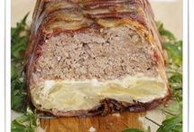 pastel carne