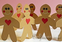 Gingerbread Crafts, Ideas, and Activities for Kids / All things Gingerbread!