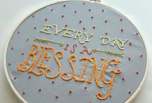 Embroidery Projects / by Liz Mayfield