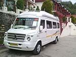Tempo traveller book on rent for Shivpuri / Get online transport services through tempo travellers, cars and mini bus for Agra Taj Mahal trip, Shimla Manali trip, Jaipur weekend sightseeing, Haridwar Rishikesh Darshan, Rajasthan tour package, same day Delhi Agra, One day return trip Vrindavan trip.