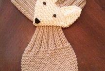 labores de lana a dos agujas
