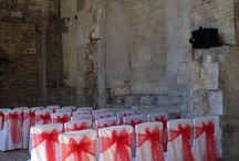 Blackfriars Priory / Wedding and event chair covers