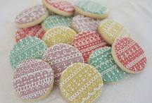 galletas con encaje o puntilla