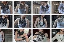 Sieraden en sjaals / Mooie sieraden en sjaals voor decoratie op je kleren of om te dragen
