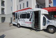 Style Bus by Vanity Salon / Introducing... the Vanity Salon Style Bus! The FIRST mobile salon.