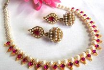 pearl neckles