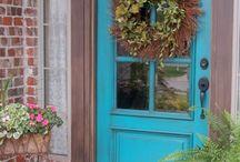 SHUT THE FRONT DOOR / Doors, entry, mudroom, porches