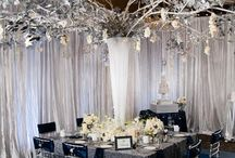 Winter Wedding Ideas / Having a winter wedding? Here are some ideas to use to incorporate the theme.