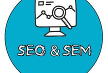 #seo & #sem / SEARCH ENGINE OPTIMIZATION  & SEARCH ENGINE MARKETING
