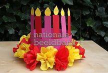 Feesthoeden/verjaardagskronen / Op dit bord vind je allerlei voorbeelden voor verjaardagshoeden voor de jongsten.......