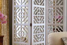 cortinas en madera