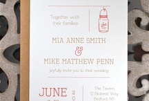 Wedding | Paper, Signs, + Guestbooks