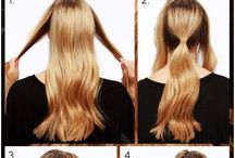 Hair / Hair styles to try
