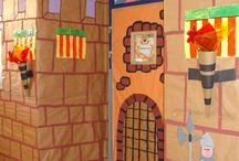 decoración puertas/aulas