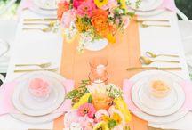 Styled Shoot: Summer Peachy Keen