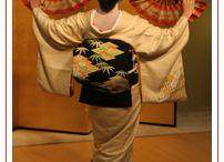 Tsuru - Crane / inspired by japonisme and geishas