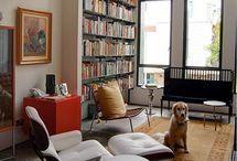 Private Libraries, Bookshelves... / by Josip Strija