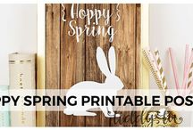 Printables / Printables of all kinds, free and paid, art and function