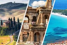 Experience Italy / We're so excited to reveal the new website designed to introduce you to Italy! Check it out and Experience Italy! / by Venere.com Hotel Reservations