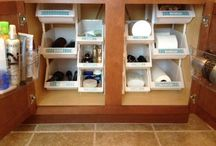 bathroom organization / by Liz Fairfax