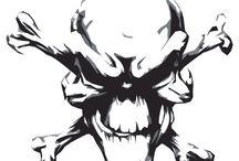 Airbrush Skulls