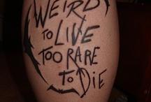 I love Ink! / by Bj McKenzie-Thompson