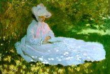 Claude Monet / by Annetta Gregory Art
