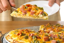 Pizza - Any Way You Like It / I love pizza! I will try it pretty much any way it is fixed. It a food group all by itself. / by Anita Self