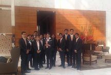INLEADers @Vivanta By TAJ / As a part of an ongoing initiative for relevant industry exposure, INLEAD facilitated a Hotel Orientation tour to Vivanta By TAJ, Gurgaon. INLEADers had a very thorough property show round which covered all the areas of the hotel. They got to see the functioning of an upscale hotel and had a very interactive session with the training manager Mr. Tushar Abrol.  Key Participants: INHM/EMPR April'16