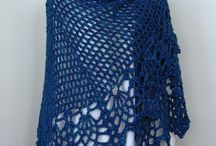 Crochet tops & shawls / Cover ups for arm cover or warmth