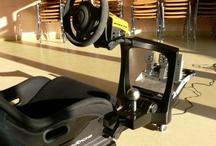 Human Racing Simulator Chassis | www.sigmatimeattack.com / An advanced racing simulator chassis with maximum adjustability, functionality and usability...