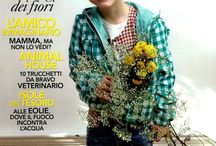 DOUUOD @ Marie Claire Enfants -  April 2014 / DOUUOD @Marie Claire Enfant, April 2014. Caftano azzurro in popeline, foto in basso , a sinistra. Caftano shirt, picture down, on the left.