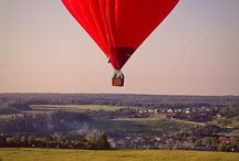 Up, up and away in my beautiful BALLOON...