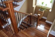 Stairs / Beauty in the transition between floors.