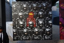 Banksy's NY Residency / Pinning the Banksy paintings and installations I visit this month.