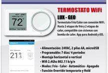Termostato Wifi y app-Controle la calefacción de su hogar/Comercio/Empresa con nuestros Termostatos